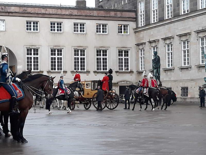 королевский дворец Кристиансборг