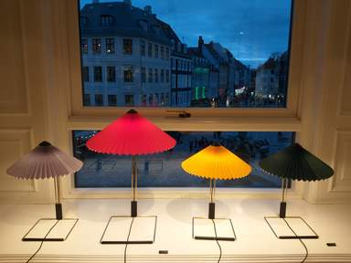 магазин мебели в центре Копенгагена