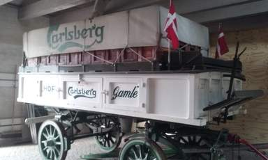 телега для Carlsberg