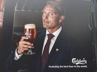 реклама Carlsberg