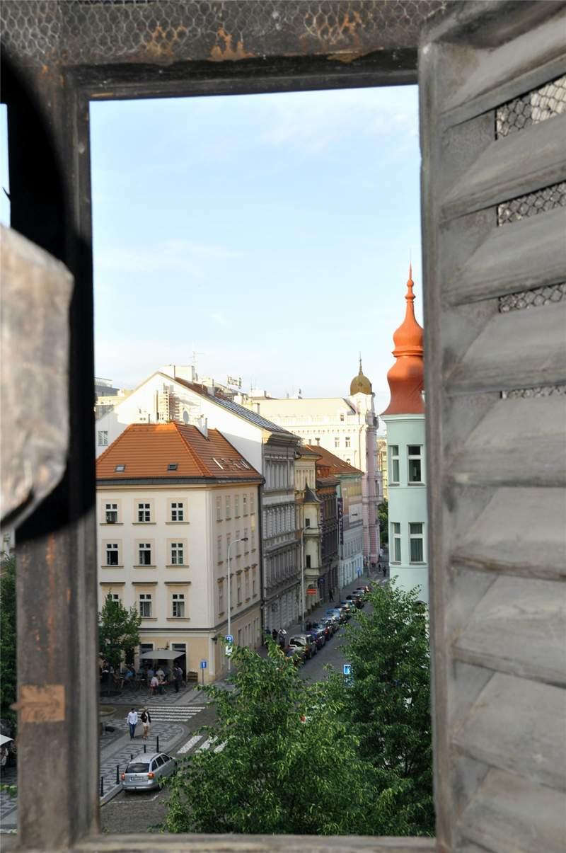 Квартал около церкви святого Петра. Вид с колокольни.