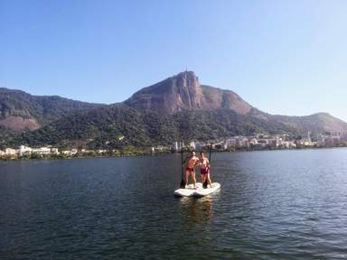 Гора Корковадо со статуей Христа