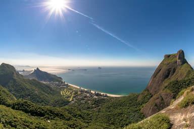 Панорамный вид с горы