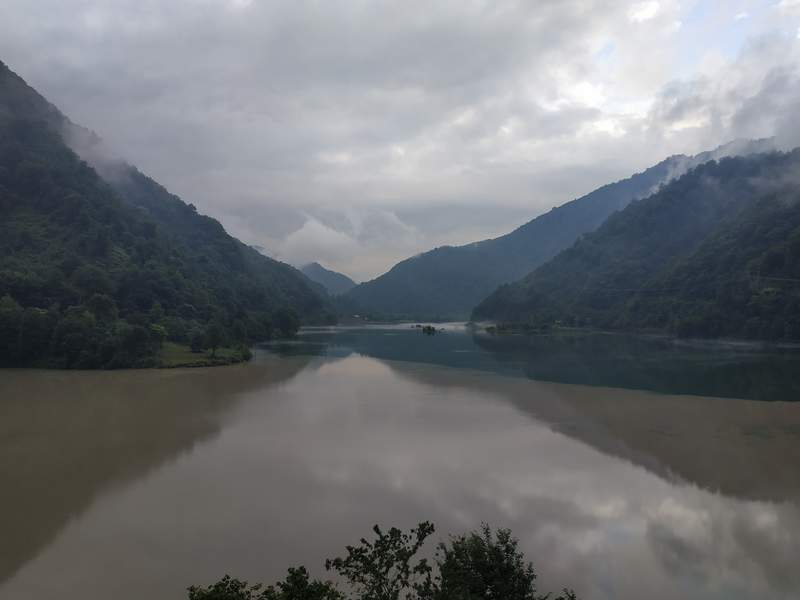 Слияние двух рек Чорохи и Аджарисцкали?