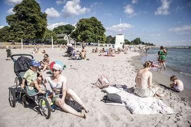 Пляжный отдых в Дании