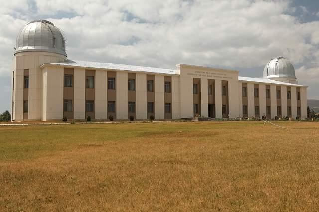 астрофизическая обсерватория.