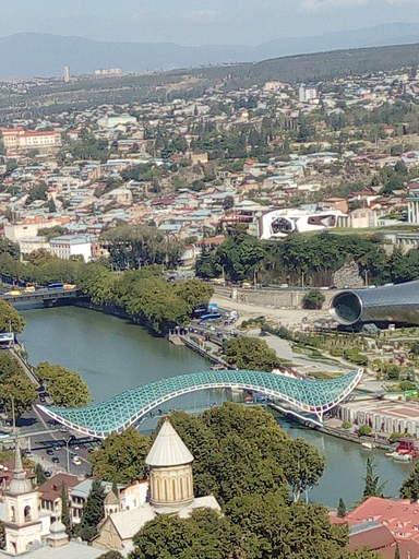 Вид с крепости Нарикала