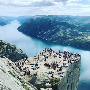 Кафедра проповедника, Норвегия