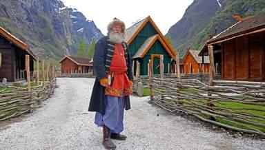 деревушка Gudvanger, Норвегия