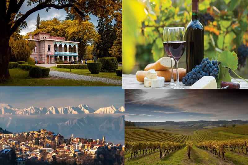 Кахети -удивительная история и множество винодельн.