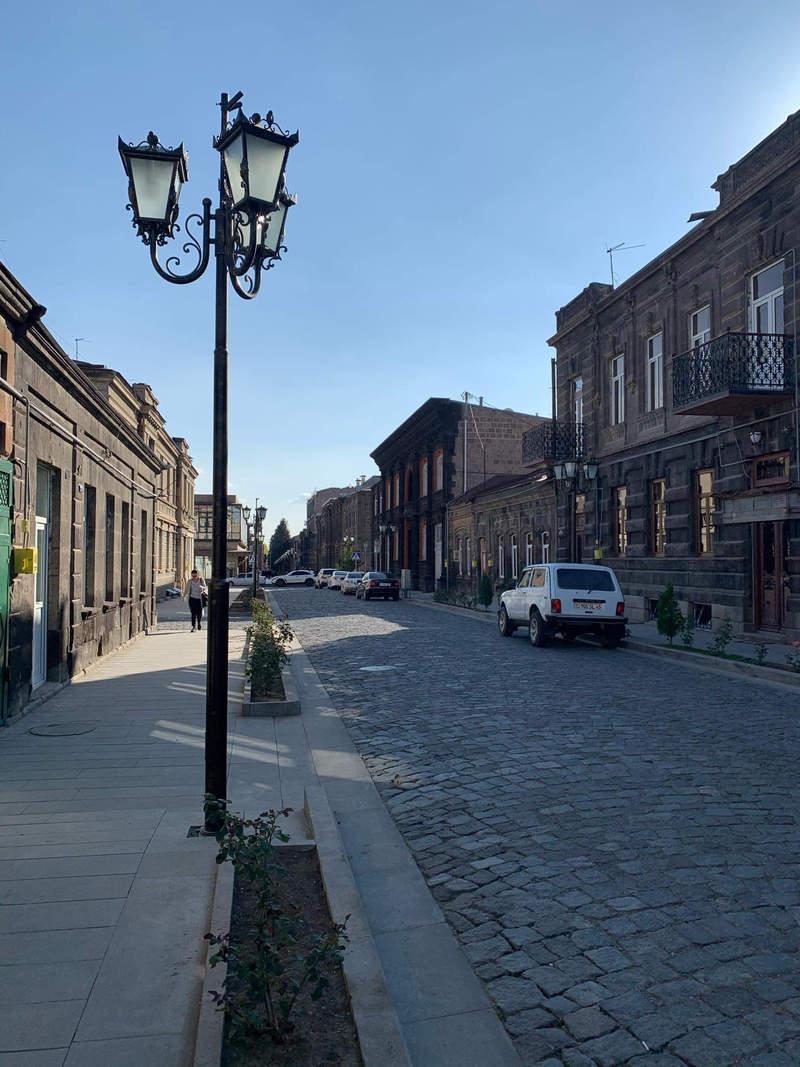 Улица в Гюмри