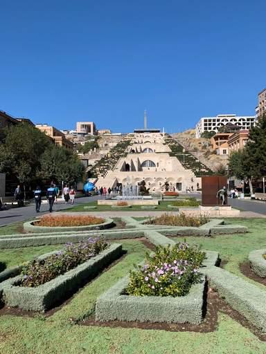 Каскад в Ереване