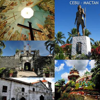 индивидуальная экскурсия  'Обзорная экскурсия 2 в 1 по Себу Сити и о.Мактан '