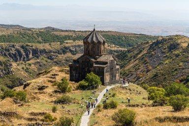 Церковь на территории крепости Амберд