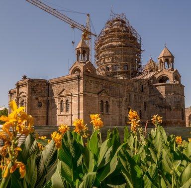 Реконструкция собора в Эчмиадзине