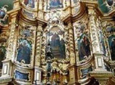 Верхняя часть иконостаса Н-Аблязовской церкви