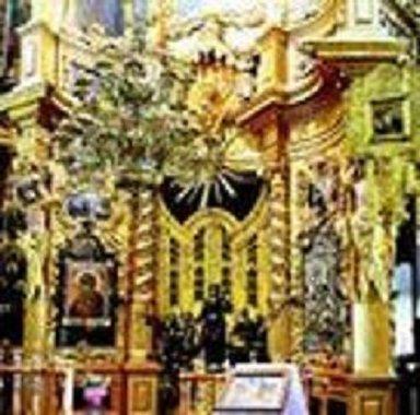 Нижняя часть иконостаса церкви в Н. Аблязово