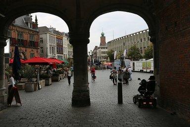 Вид на рыночную площадь