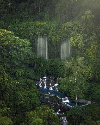 Водопад Benang Kelambu