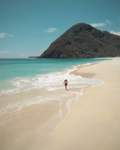 Пляж Teomang-omang