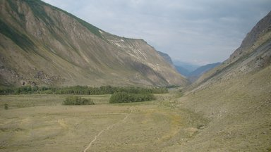 Горный каньон.