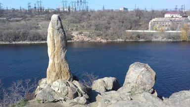 Черная Скала и каменная баба доскифского периода