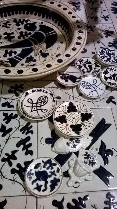 типичная керамика Витербо - заффера