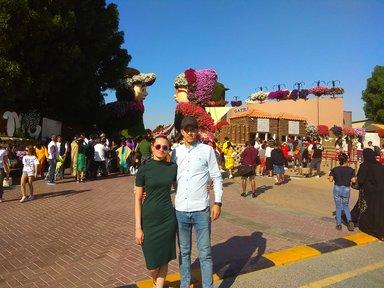 частная экскурсия  'БИЛЕТ В ПАРК ЦВЕТОВ - DUBAI MIRACLE GARDEN'
