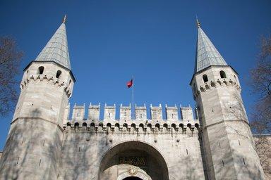 Ворота во второй двор дворца Топкапы