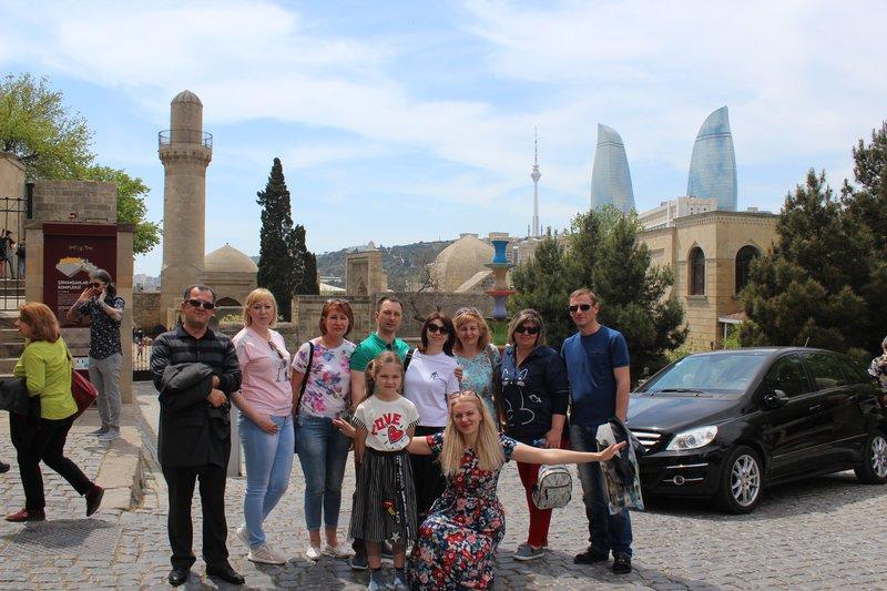 С гостями из РФ