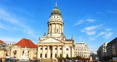 Жандармен маркт, авто экскурсия по Берлину, экскурсии в Берлине на машине, гид в Берлине на русском