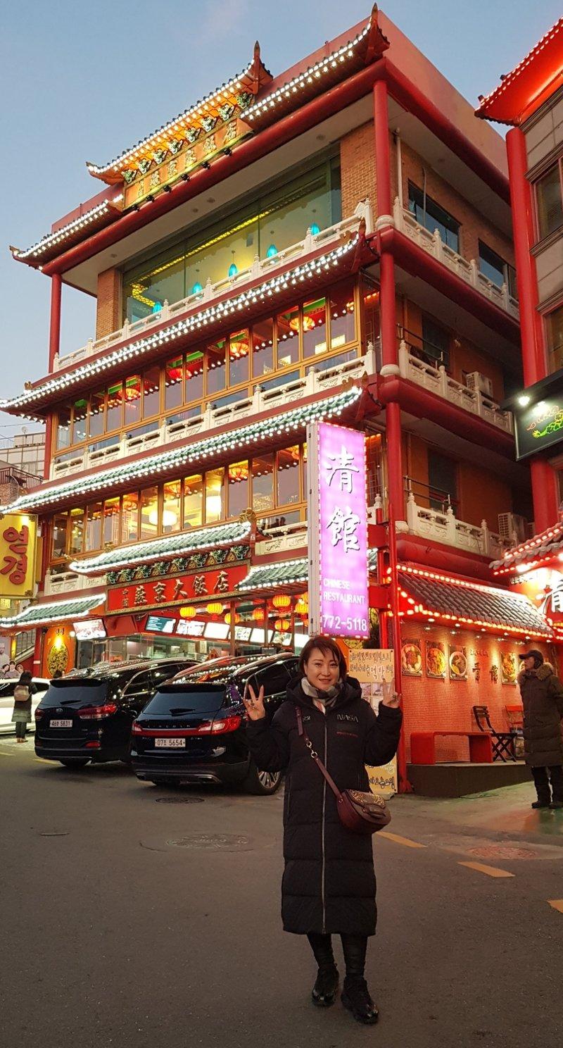 Китайский квартал Чайна Таун в Корее.