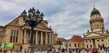 Жандармен маркт, недорогие экскурсии в Берлине, групповые экскурсии в Берлине, гид в Берлине, дешeвые экскурсии в Берлине
