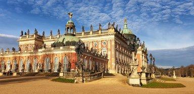 Новый дворец, Экскурсия в Потсдаме, экскурсии в Потсдаме на русском, гид по Потсдаму, авто экскурсия в Потсдаме