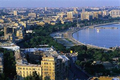 Бакинская набережная второй половины XX века