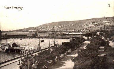 Купальня бульвара рубежа XIX - начала XX столетия