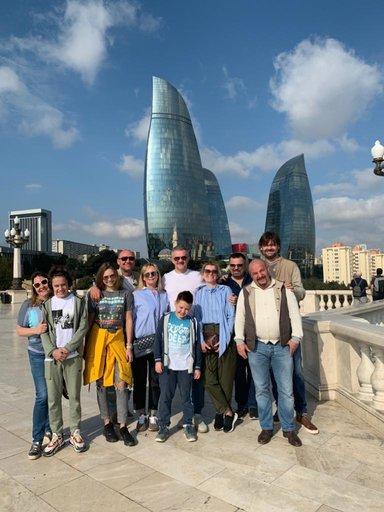 «Пламенные башни» — высочайшие здания в Азербайджане