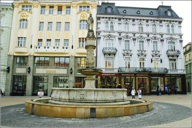 Братислава. Гл. площадь.