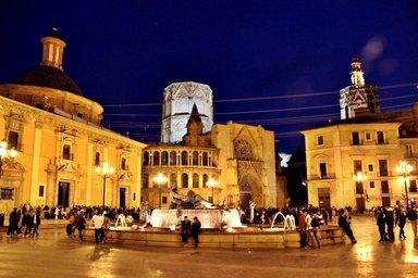 Одна из главных площадей города