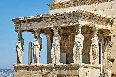 Акрополь кариатиды