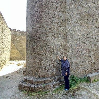 Романинская Крепость ,смотритель Назакят ханум