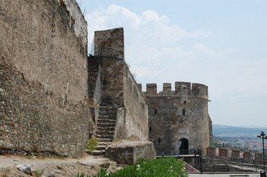 Верхний город, Византийские крепостные стены