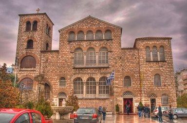 Храм св. Димитрия - главная святыня Салоник