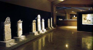Надгробия аристократов в музее царских гробниц