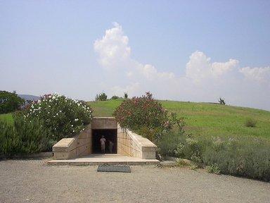 Музей в Вергине - гробница Филиппа Македонского, отца Великого Александра