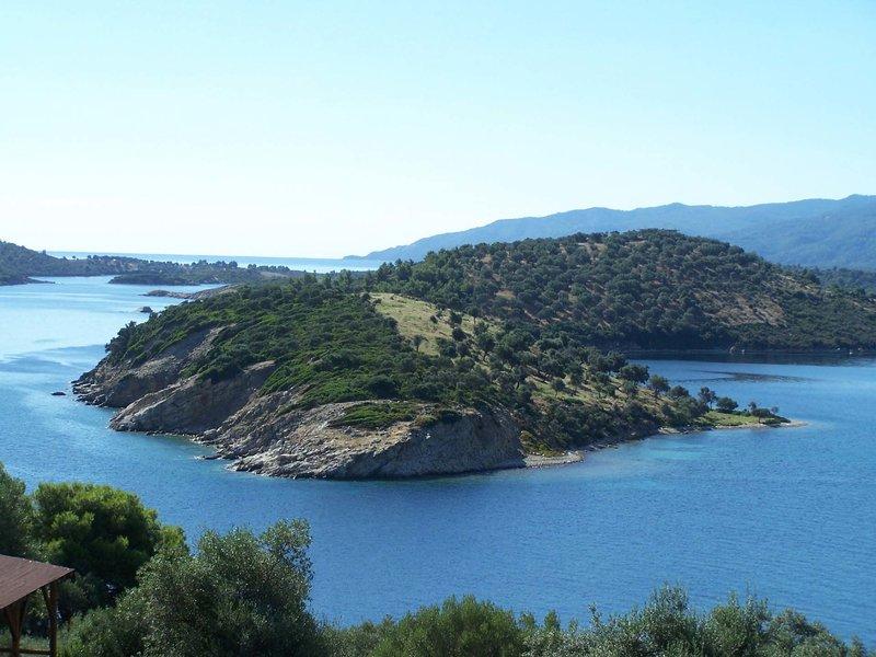 Побережье Ситонии - это самые красивые места полуострова Халкидики