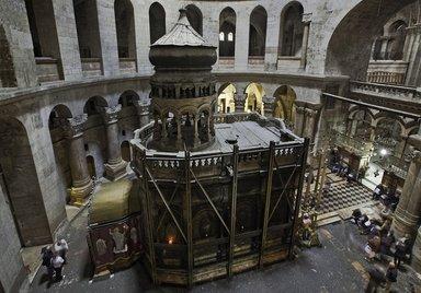 Кувуклия-Храма-Гроба-Господня