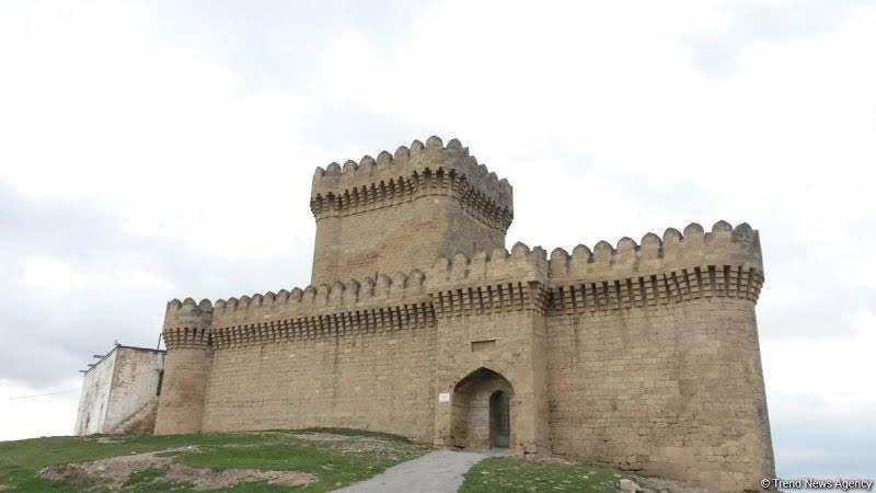 Бакинская крепость Романа.