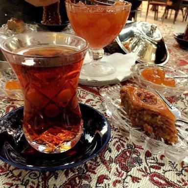 Чай с восточными «слабостями»