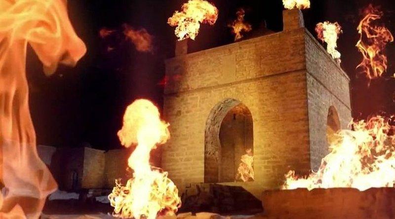 Магия огня в Храме Онепоклонников